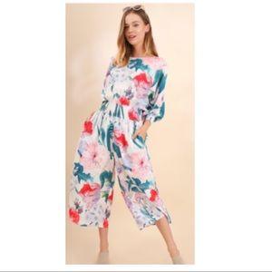 Pants - Cali Floral Jumpsuit